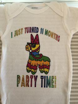 Piñata Onesie Thumbnail