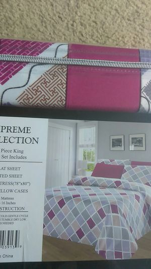 6 piece bed set for Sale in Arlington, VA