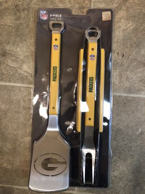 Official NFL Greenbay Packers 3 piece set for Sale in Sudley Springs, VA
