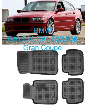 Photo All weather floor mats for BMW 3 Series E46,E90,E91,F32,F36 Gran coupe Custom Fit NEW!!!
