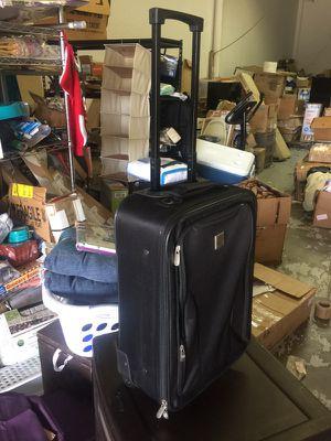 Black Protege 18 Pilot Case Carry On Luggage