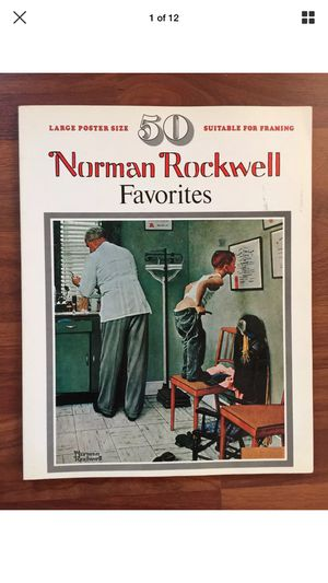 Norman Rockwell Book for Sale in Detroit, MI