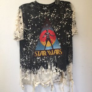 Star Wars custom shredded tee for Sale in Los Angeles, CA