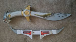 Saba White Ranger Sword for Sale in Washington, DC