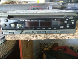 Pioneer radio Thumbnail