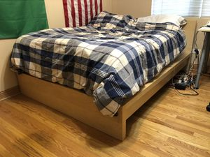 Photo IKEA MALM full bed frame