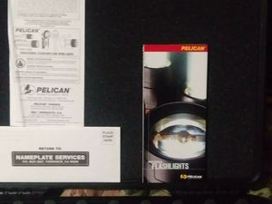 Pelican water and shock proof case. Carpet tool ect for Sale in Houston, TX