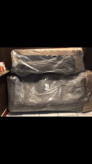 Brand new 2 piece living Room Sets the color(brown) for Sale in Davie, FL