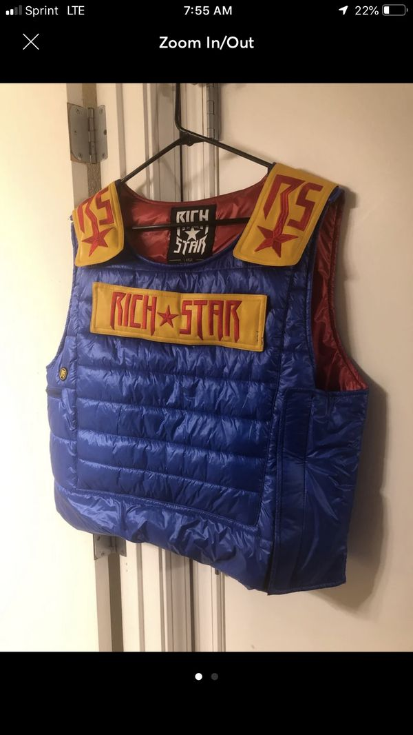 Rich Star Vest For Sale In Normal Il Offerup