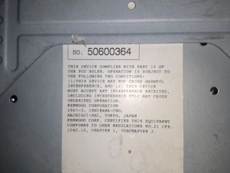 Kenwood KDC-3028 CD player Thumbnail