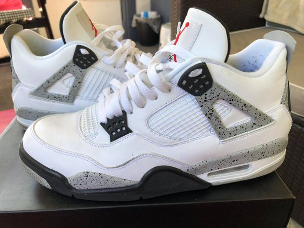 buy online ce9b9 4983f JORDAN 4s White and Cement. Size 11 for Sale in Pleasant Hill, IA - OfferUp