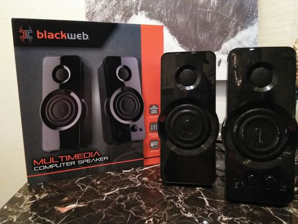 Moving Sale! Blackweb computer speakers for Sale in El Paso, TX - OfferUp