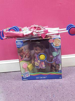 Baby alive doll & stroller set for Sale in Fort Washington, MD