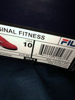 RED FILLAS SIZE 10 for Sale in Kissimmee, FL