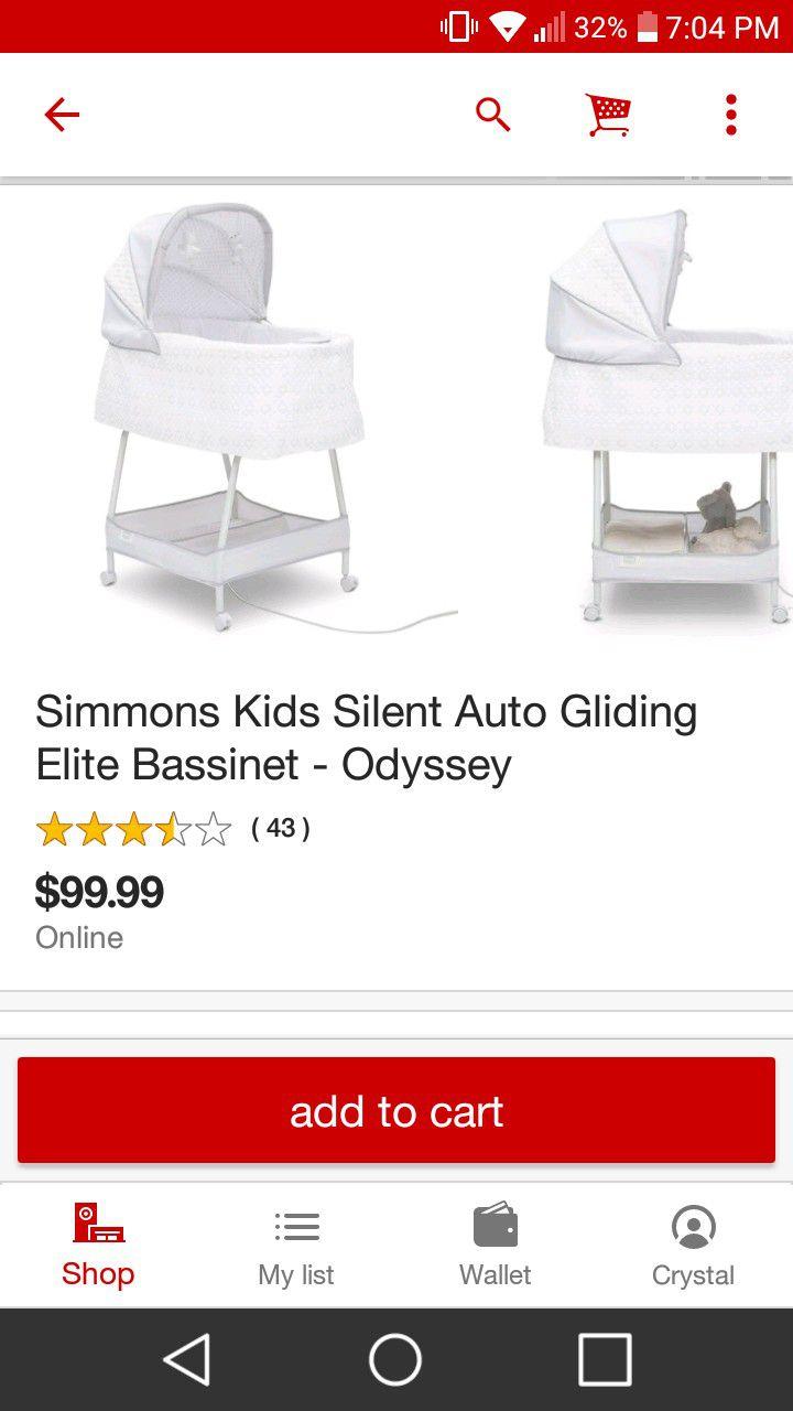Simmons Elite Bassinet