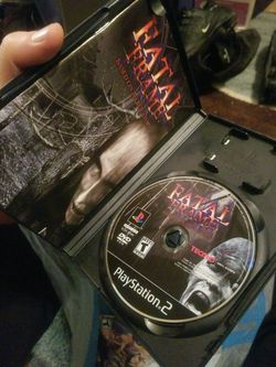 Playstation two Ps2 Fatal frame Complete mint Condition  Thumbnail