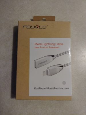 Brand New Metal iPhone Charger for Sale in Las Vegas, NV