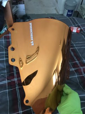 Motorcycle windscreen Suzuki GSX for Sale in Manassas, VA