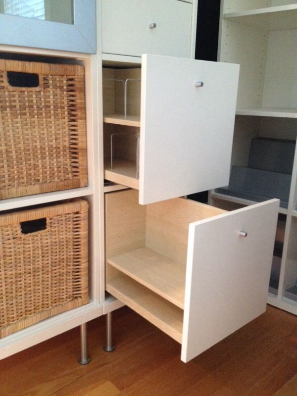 Expedit Cd ikea | 2x kallax, expedit, bonde cd and dvd drawers in white for