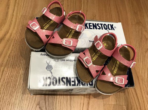 best service 577f6 ea932 Girls Rio Kinder / Rio Kids Birkenstocks - NIB - Color Magic Galaxy Pink  (Sz 25/C7) for Sale in Los Angeles, CA - OfferUp
