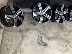 Photo Vw golf R , VW GTI , MK7 . GTD 18'' BORBET CADIZ . Genuinos e