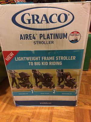 Gracie Aire 4 Platinum Stroller NEW for Sale in Gaithersburg, MD