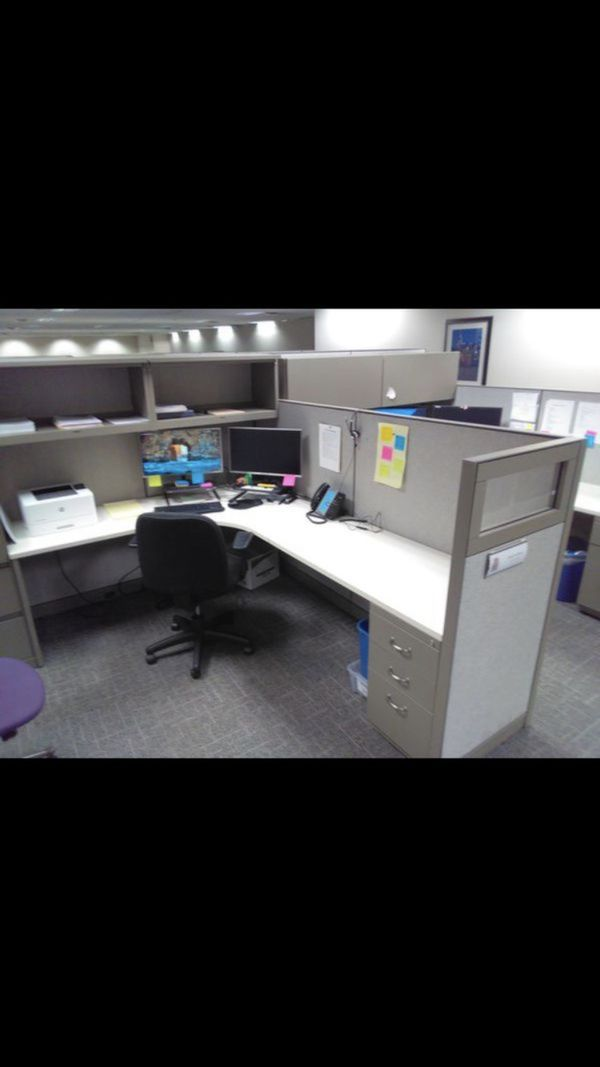 6x6 Cubicles With Glass Wing Free Install And Delivery For