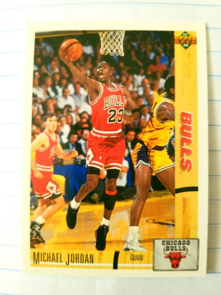 3 EACH Michael Jordan Trading Card In Plastic Pack