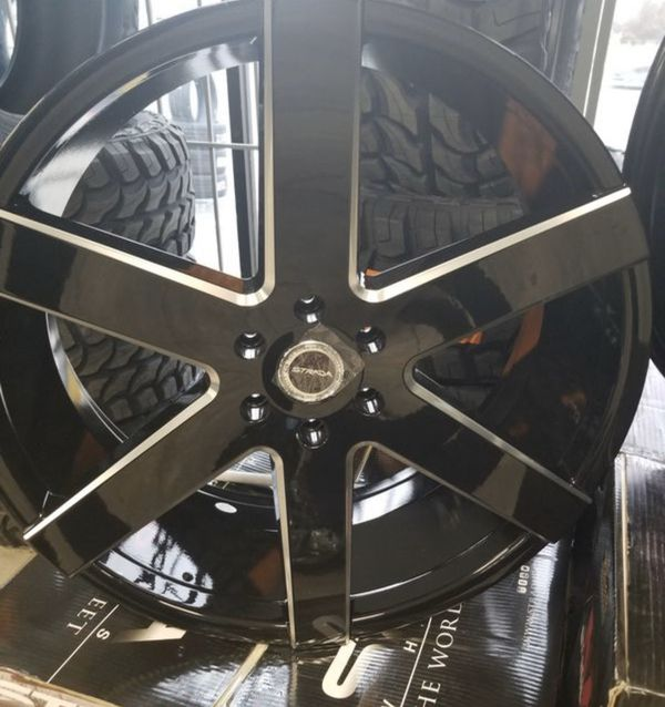 "24"" Strada Wheels 6x139.7 And 6x135 For Sale In Manteca"