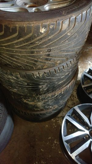 Mustang rims and tires for Sale in Annandale, VA