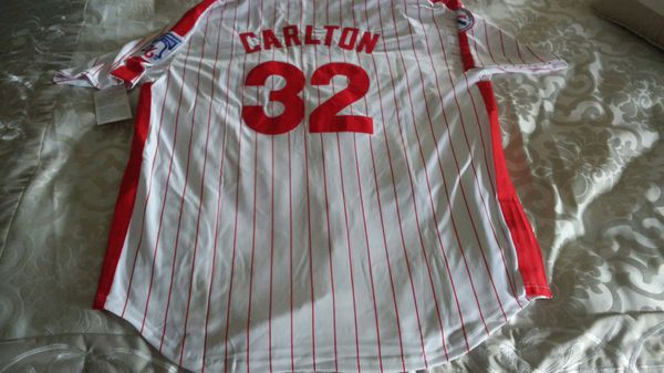 26e5fe9db Steve Carlton Philadelphia Phillies XL Jersey (Clothing   Shoes) in Bensalem