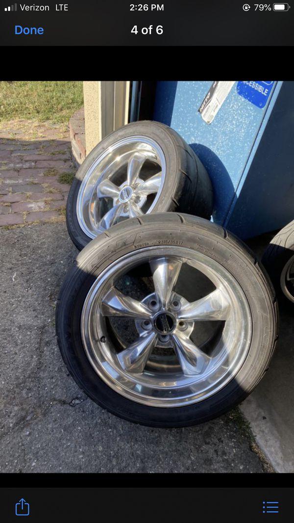 Mustang wheels & tire NTOR5 315/35/17 for Sale in Los ...