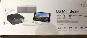 LG Minibeam projector - LED HDMI BLUETOOTH for Sale in Woodbridge, VA