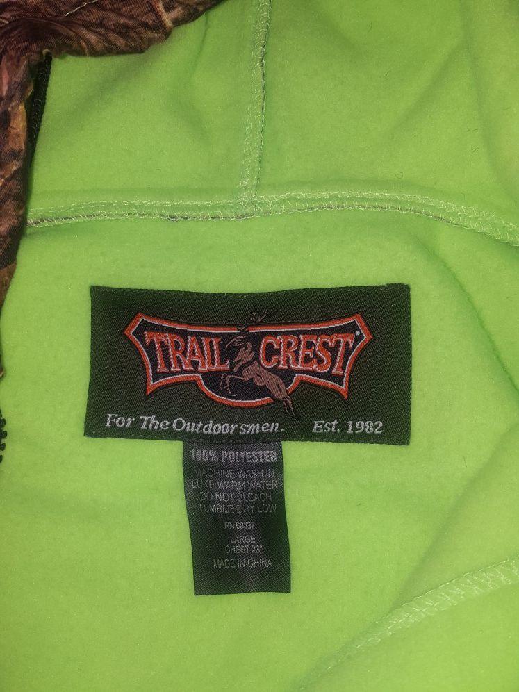 Ladies Trail crest hooded fleece
