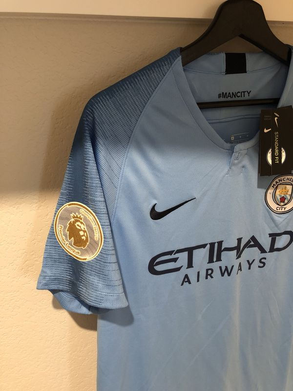 Manchester city soccer jersey official 18-19 for Sale in Plano 2b102b421