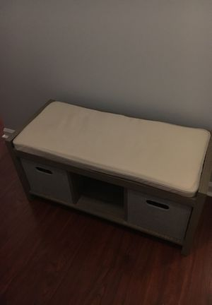 Storage bench (pick up only) for Sale in Gaithersburg, MD