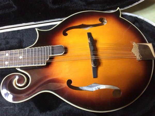 Mandolin F style Michael Kelley reduced