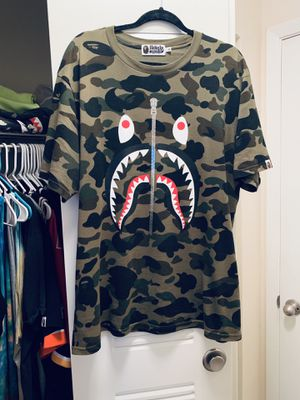 a59becab5 New and Used Bape shirt for Sale in Winter Park, FL - OfferUp