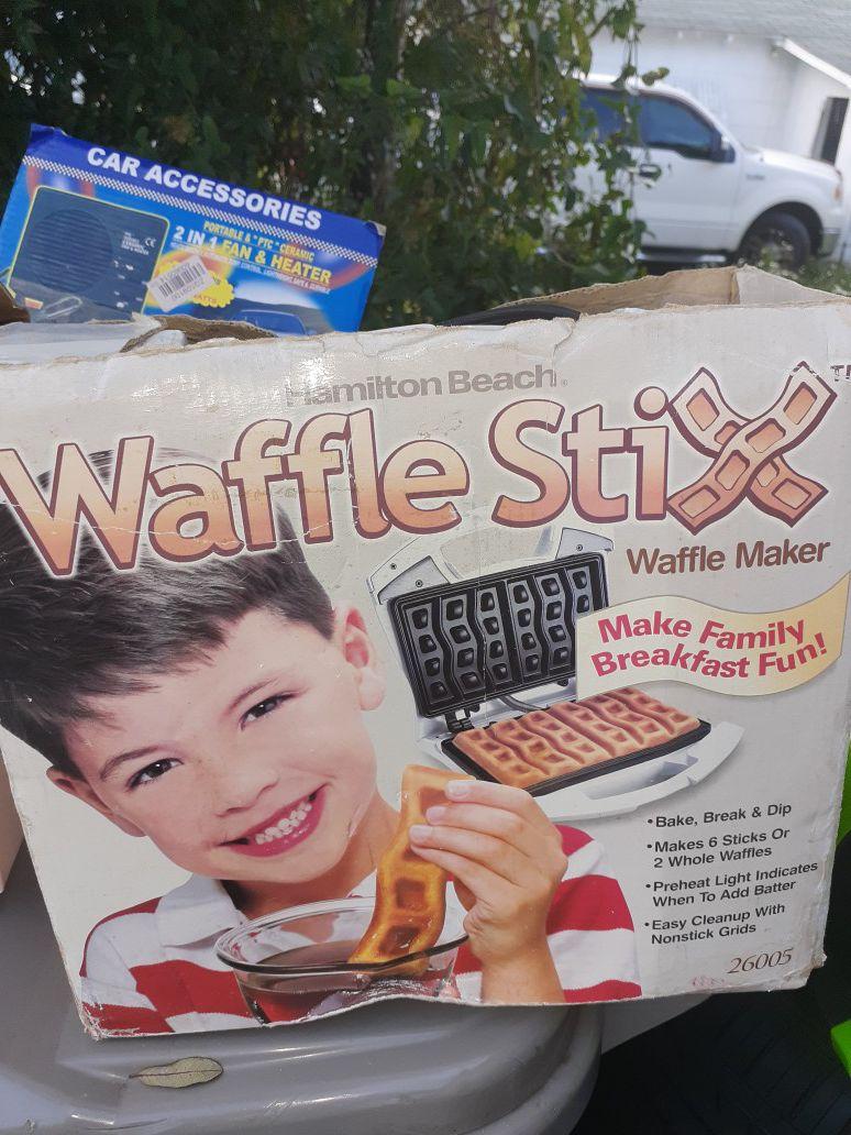 Waffle maker $10