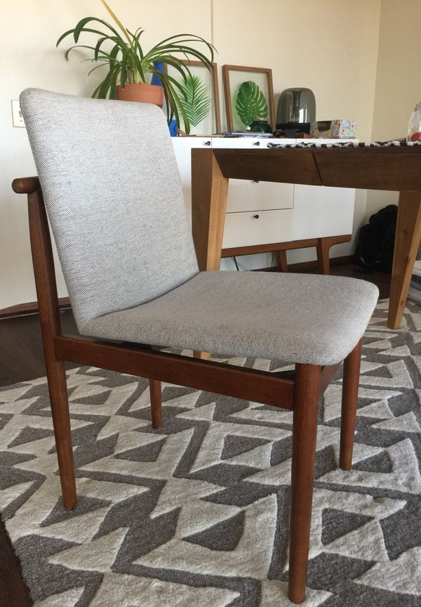 Strange West Elm Framework Upholstered Dining Chair For Sale In Short Links Chair Design For Home Short Linksinfo