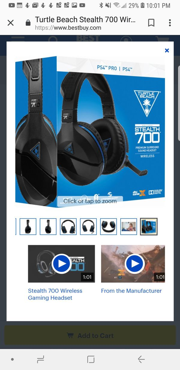 8b8c7287af6 Turtle Beach Stealth 700 Premium Wireless for Sale in San Jose, CA ...