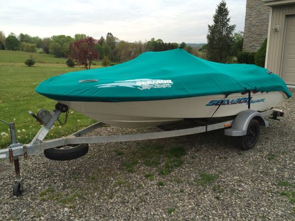 1997 Sea Doo Challenger jet boat for sale for Sale in Coopersburg, PA -  OfferUp