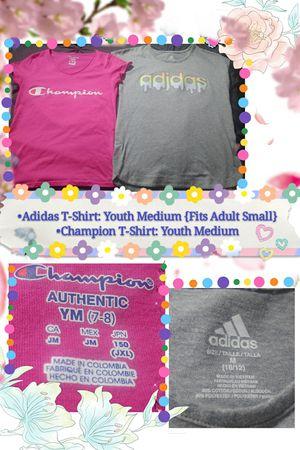 Photo Girls Adidas & Champion Shirt