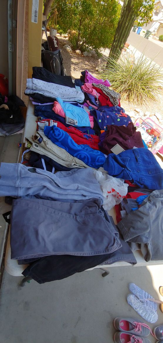 282bd230e205 Girls and boys clothes great condition Gap Close Calvin Klein Under Armour   5 each or this entire table for  25 (Baby   Kids) in Phoenix