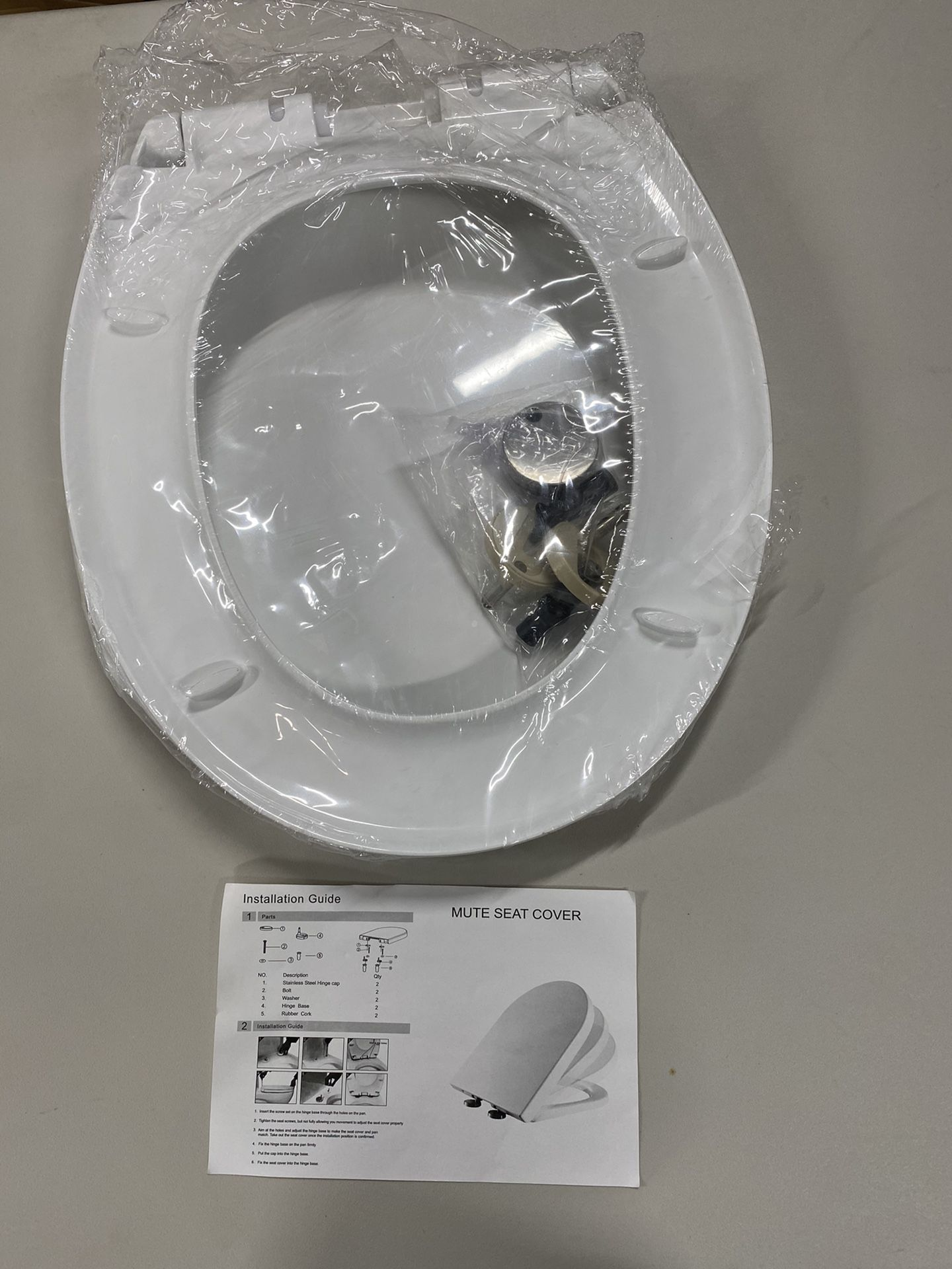 Coverst Thickening And Mute Toilet Cover Manufacturers Make Direct Selling Toilet Lid Thickening Mute Seat Cover Plate Slow Down And Quick Dismantling