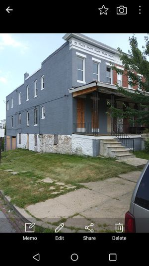 This is an investors Alert 4 bedroom 2 car garage and a great neighborhood don't miss out on it... Start working on it ran out of money for Sale in Hyattsville, MD