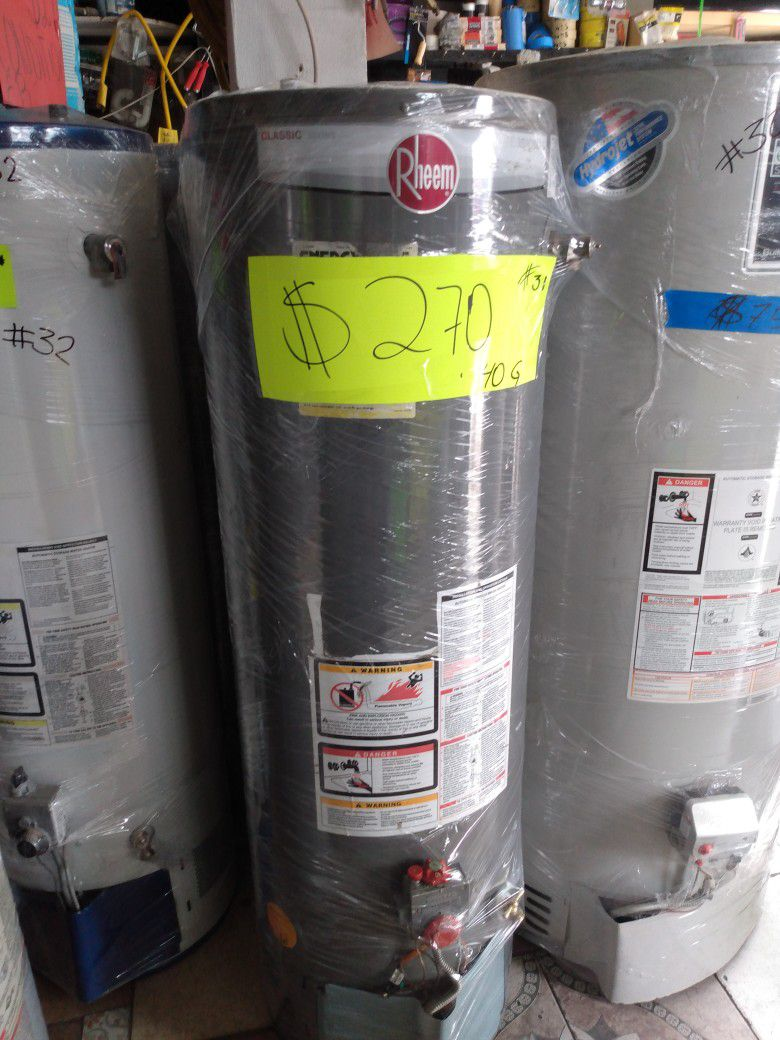 Boiler 40 Galones