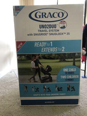 Graco Uno2duo travel system for Sale in Alexandria, VA