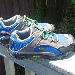 Keen Gray Green Blue Black Hiking Shoes Thumbnail