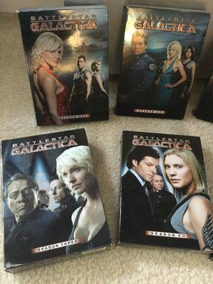 I have the complete Seasons for Battlestar Galactica from Season 1 -Season 4.5 😎👍🍿. 📀📀📀📀📀 🎥 for Sale in Alexandria, VA